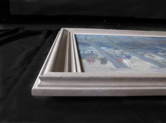cadre peint à la main sur mesure